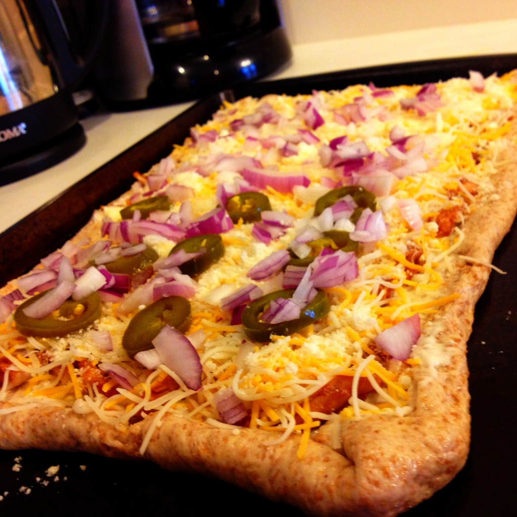 BBQ Chicken & Ranch Pizza III