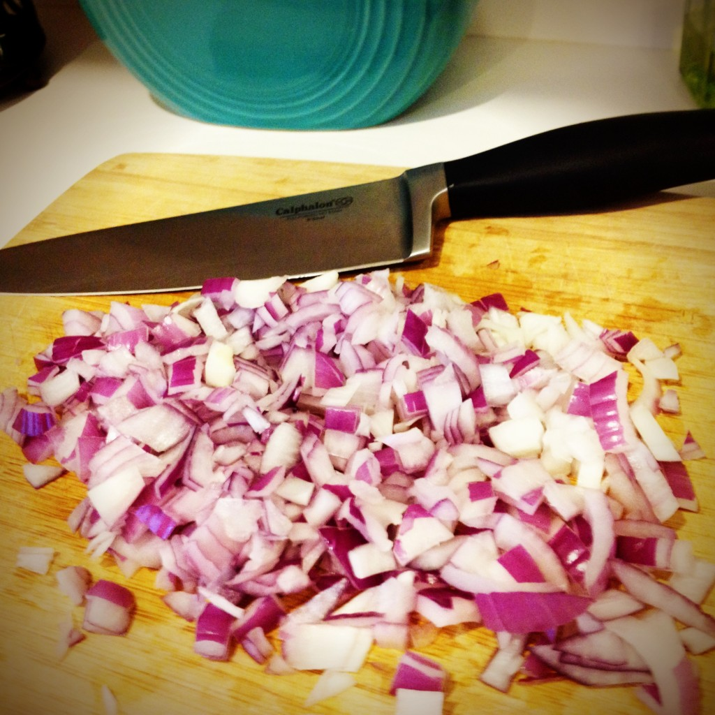 Diced Onions for BBQ Chicken & Ranch Pizza