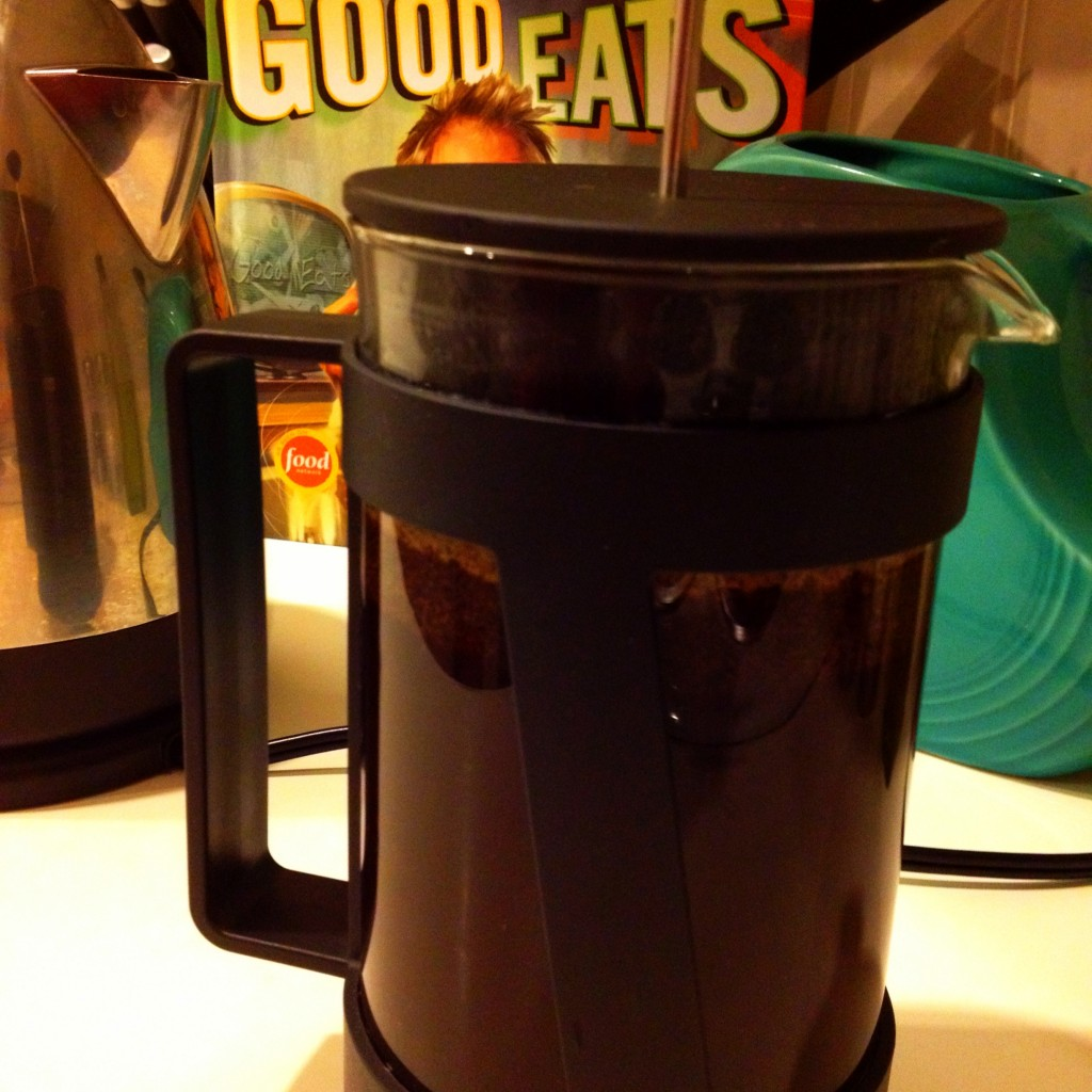 Good Eats French Pressed Coffee