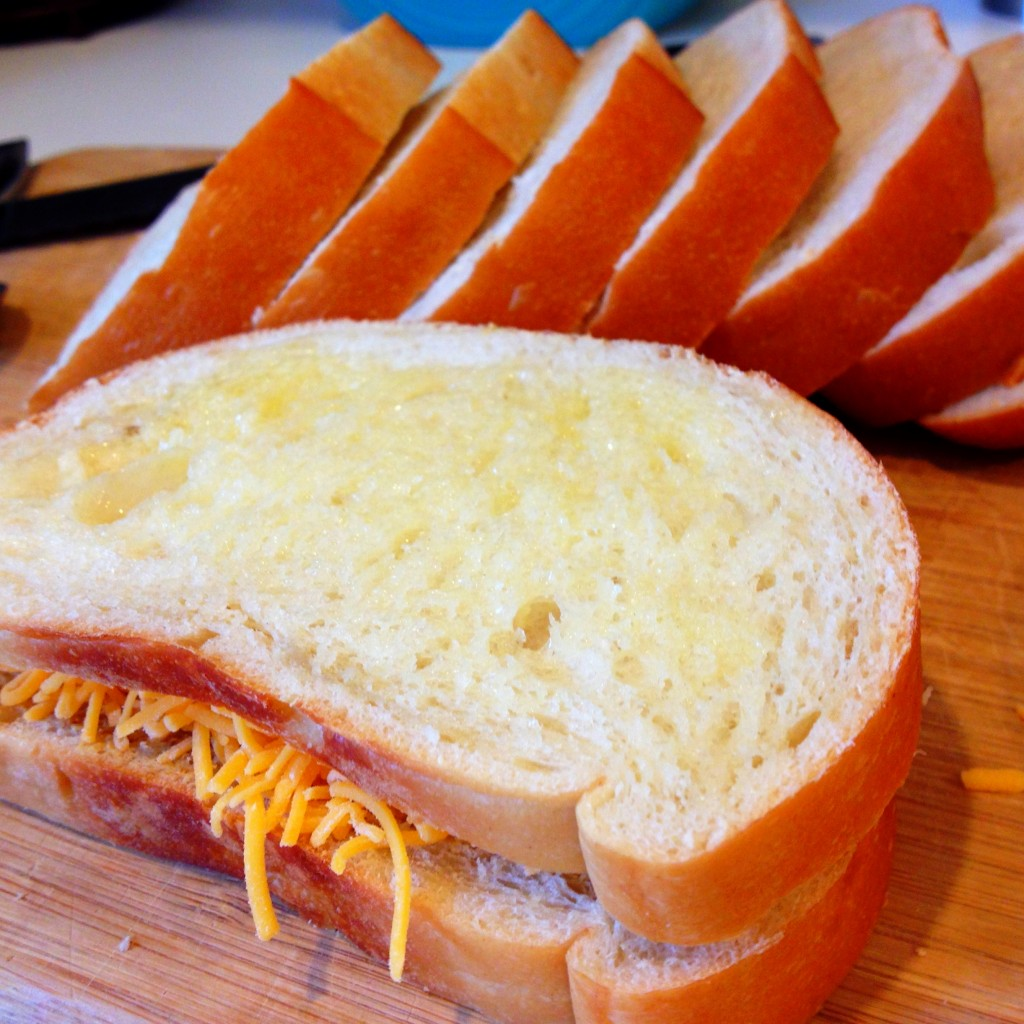 Buttered & Cheesed Sandwich