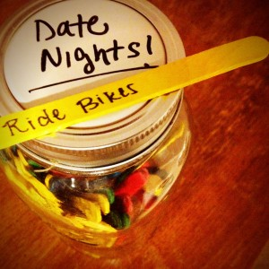 The Cazee's Date Night Jar