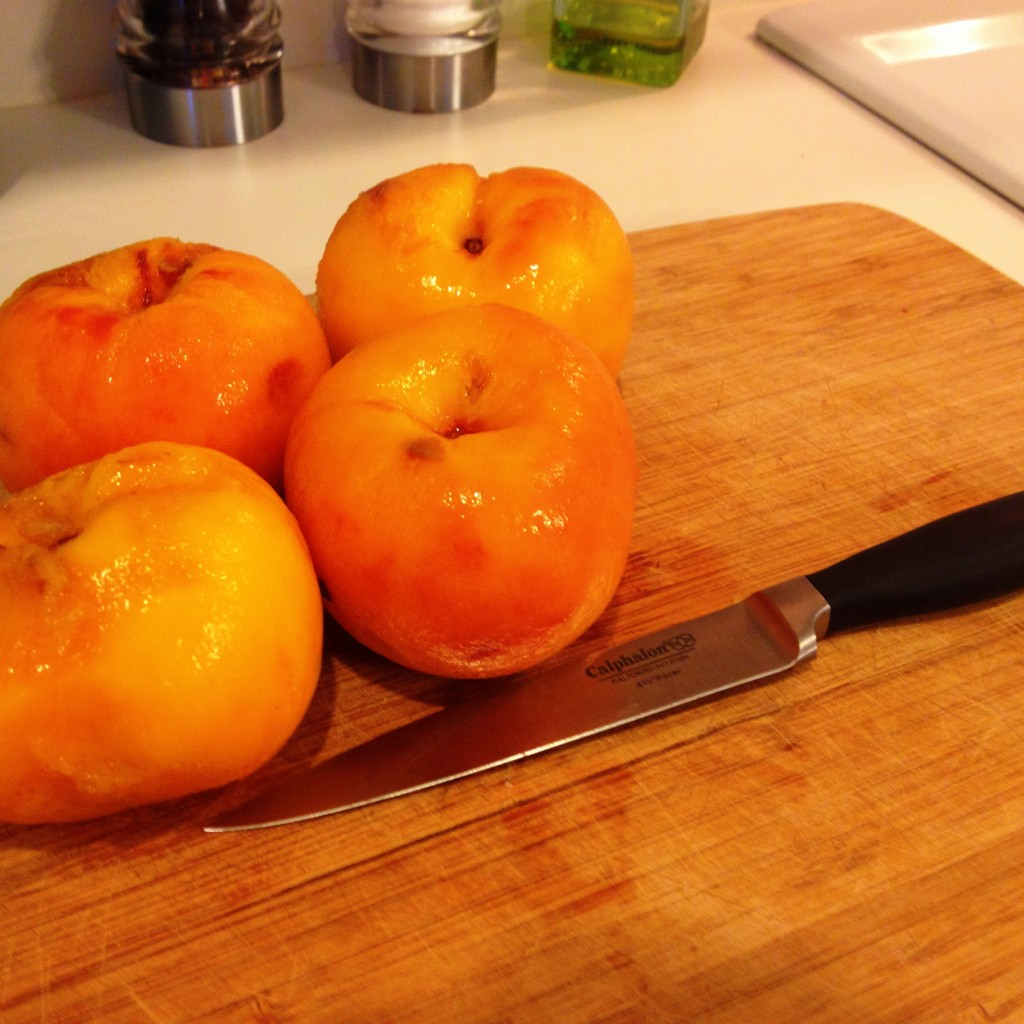 Peeled Peaches for 52 For Two Date Night