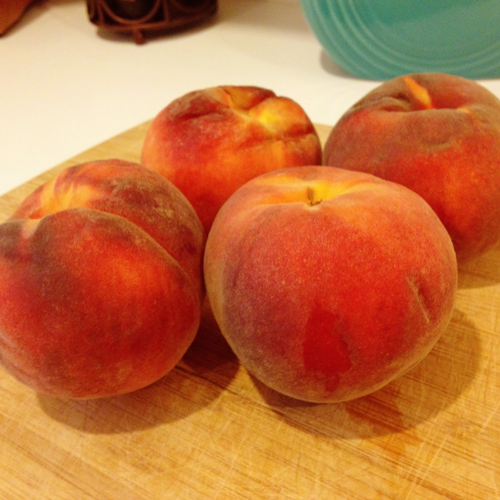 Unpeeled Peaches for 52 For Two Date Night