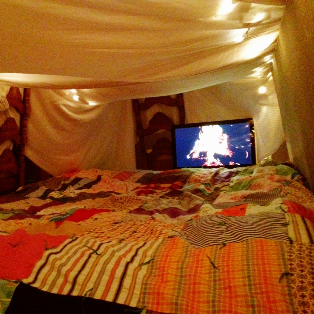 Homeade Fort 52 For Two Date Night