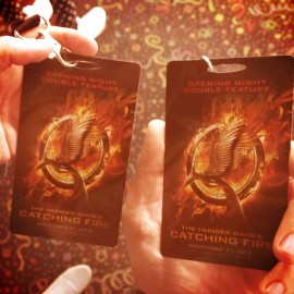 Catching Fire + Tributes Last Chocolate Mousse