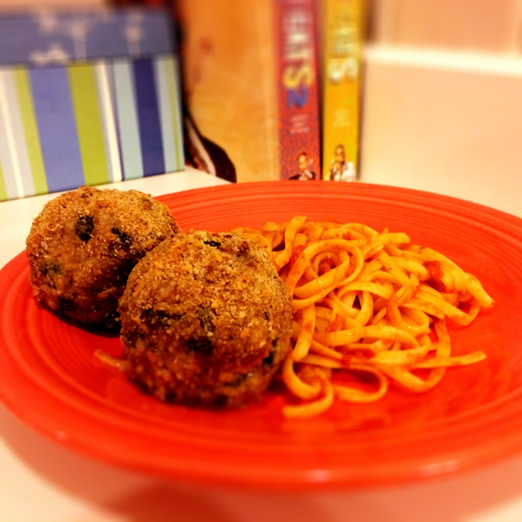 Good Eats Baked Meatballs