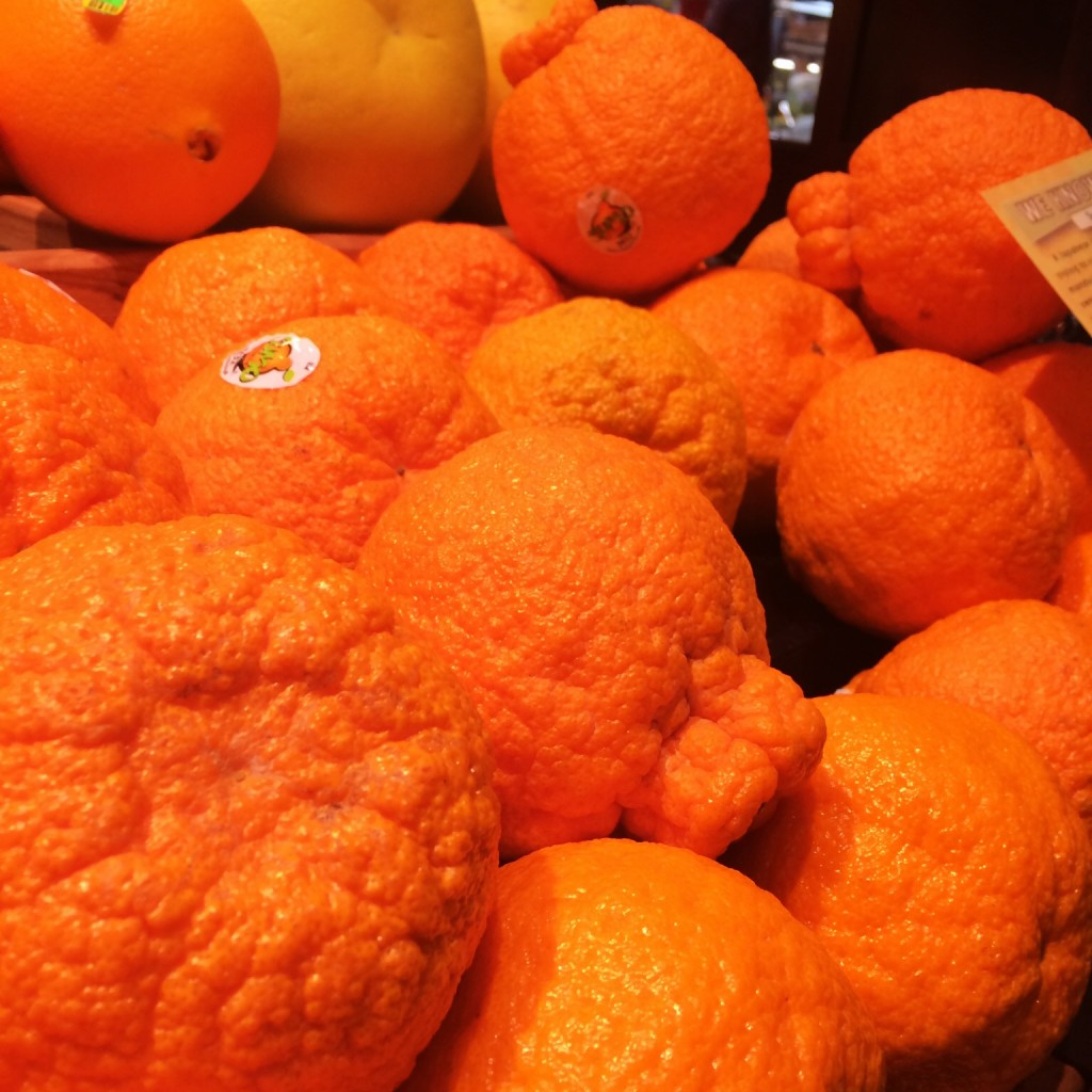 Sumo Mandarin Oranges at the Fresh Market