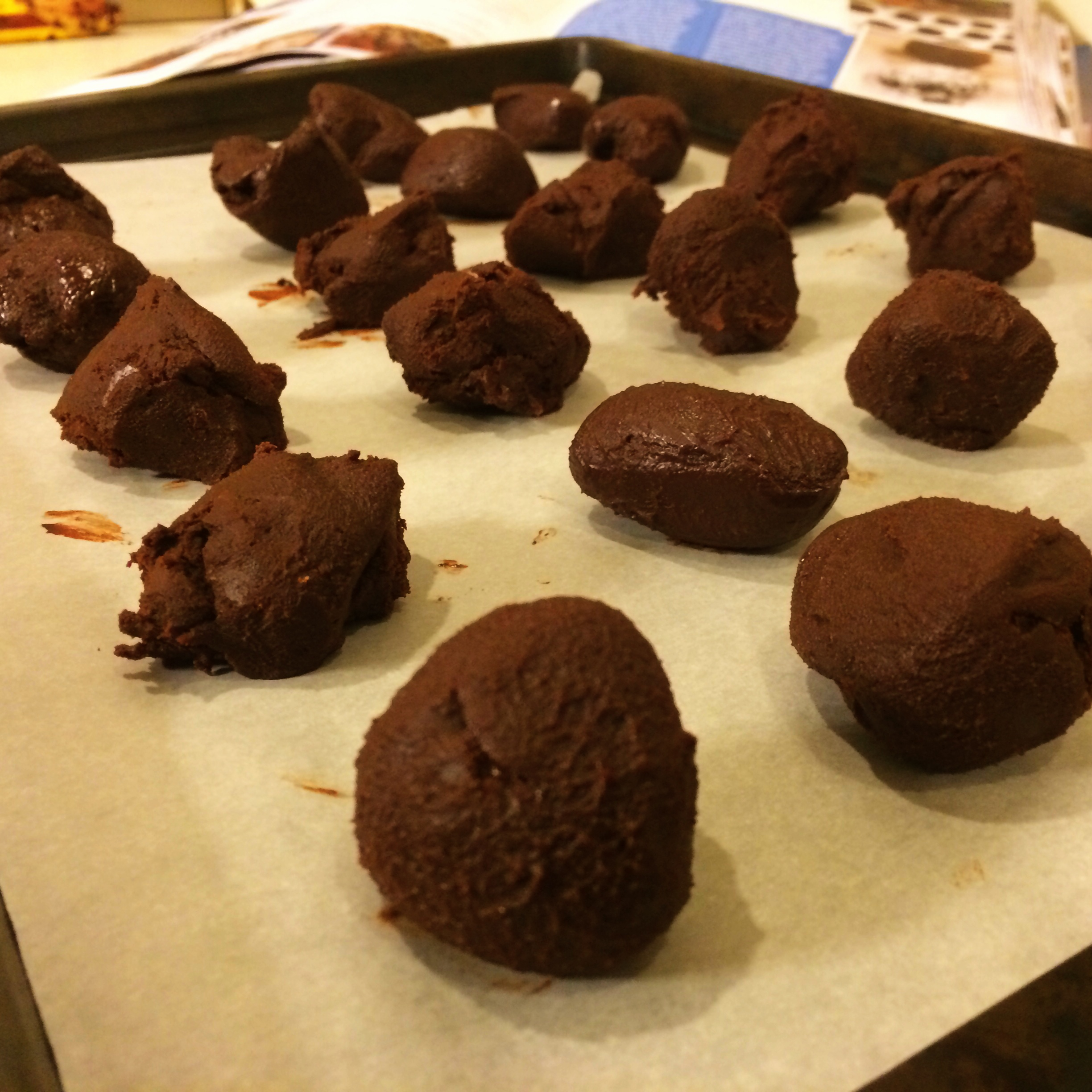 Rolled Good Eats Chocolate Truffles