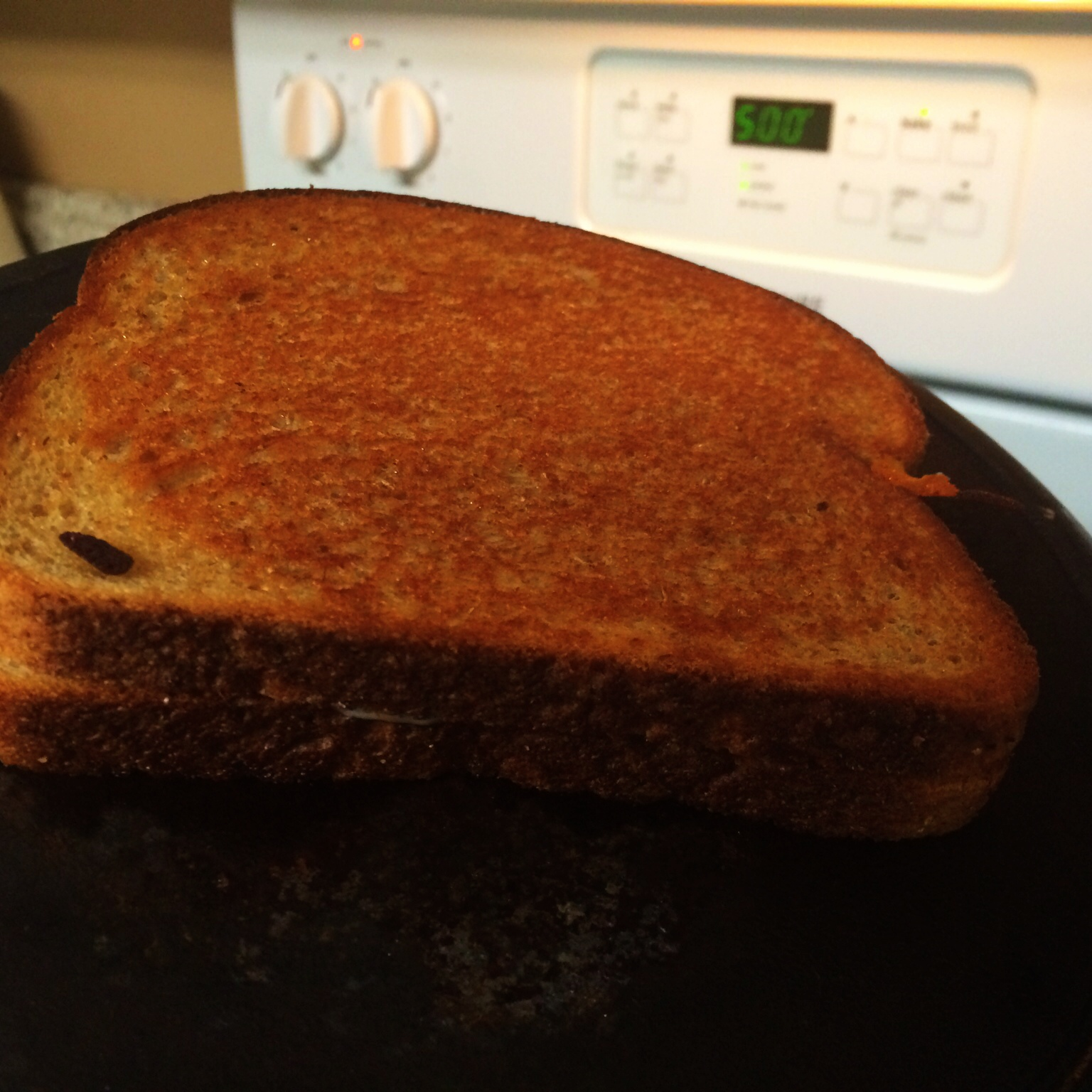 Finished Grilled Cheese